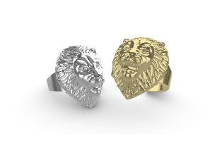 Lion Face Ring