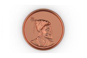 Shivaji Coin Render